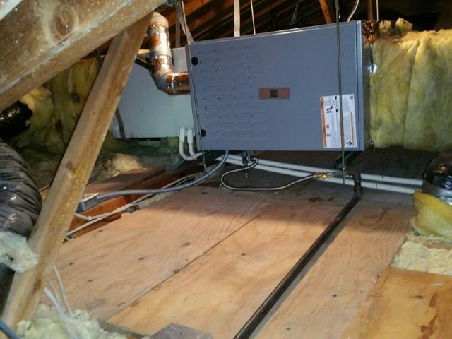 Lawndale, CA - Replaced a gas furnace in the city of Lawndale, CA.
