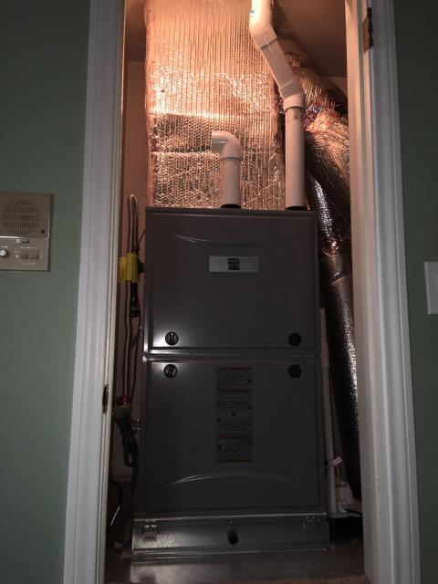 Hermosa Beach, CA - Replaced a gas furnace in the city of Hermosa Beach, CA.