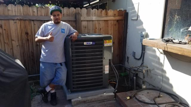 South Gate, CA - Replaced the condenser, coil, and the furnace in the city of South Gate, CA.