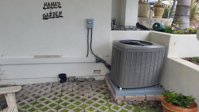 Manhattan Beach, CA - Replaced a condenser, coil, and furnace in the city of Long Beach, CA.
