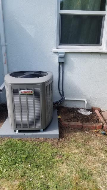 Torrance, CA - Replaced a condenser, coil, and furnace in the city of Torrance, CA.