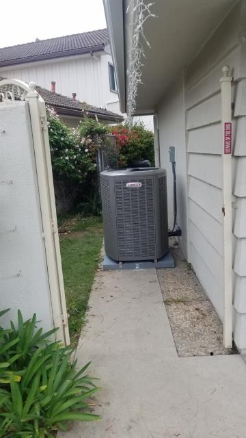 Rancho Palos Verdes, CA - Installed a condenser, and coil. Replaced a furnace in the city of Rancho Palos Verdes, CA.