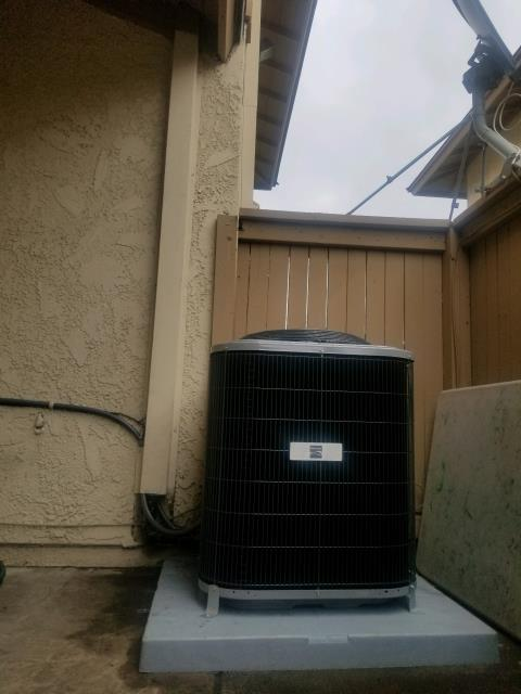 Hacienda Heights, CA - Replaced a gas furnace, condenser, and coil in the city of Hacienda Heights, CA.