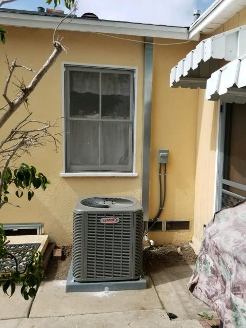 Gardena, CA - Installed a new condenser, coil, and furnace, along with the duct work. We also removed a wall furnace in the city of Gardena, CA.
