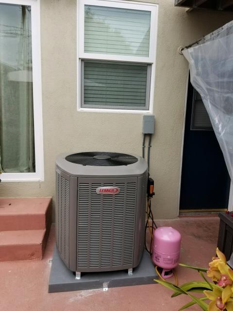 Los Angeles, CA - We installed a new condenser, coil, and furance in the city of Los Angeles, CA.