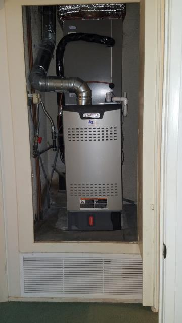 Torrance, CA - Installed a new condenser, coil, and furnace with 8 ducts in the city of Torrance, CA.