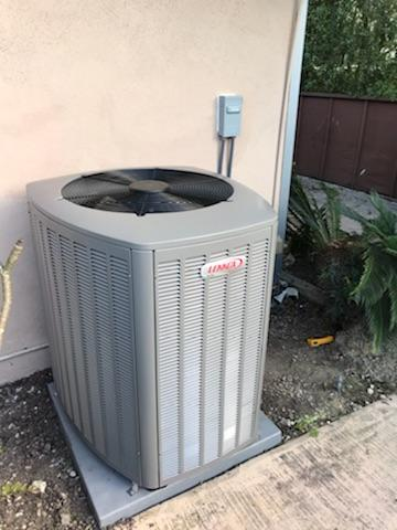 Palos Verdes Estates, CA - Installed a new condenser, coil, and furnace, along with duct work in the city of Palos Verdes Estates, CA.