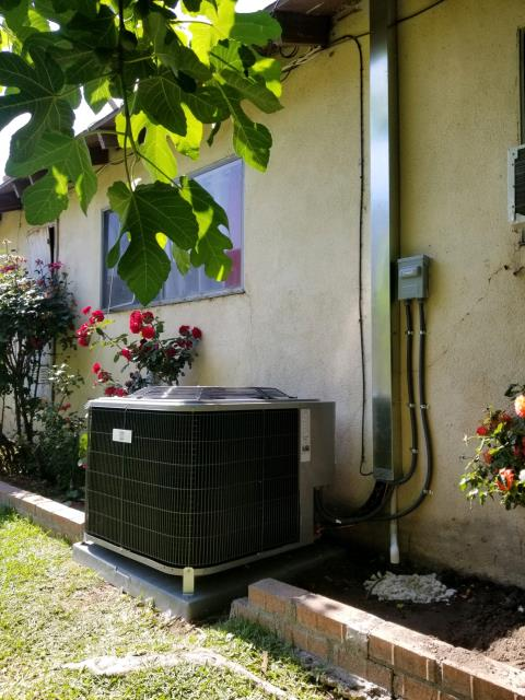 El Monte, CA - We replaced the condenser, coil, and the furnace. We also upgraded the electric panel in the city of El Monte, CA.