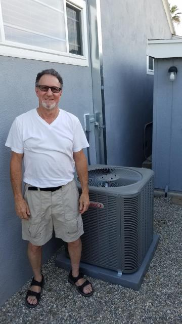 Whittier, CA - We installed a new condenser, coil, and furnace with 8 ducts in the Happy Moonitz home located in the city of Whittier, CA.