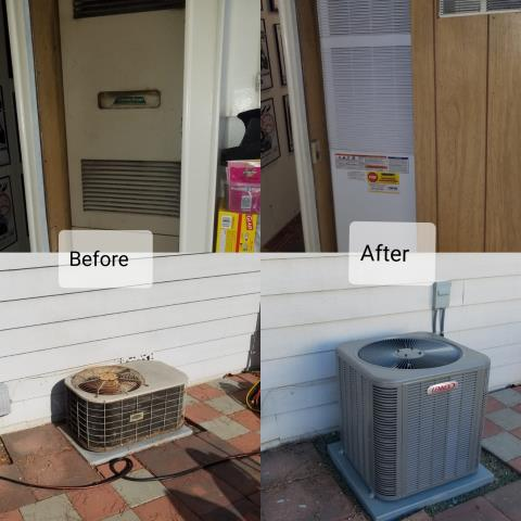 Azusa, CA - Condenser and Furnace replacement for the Helm family.