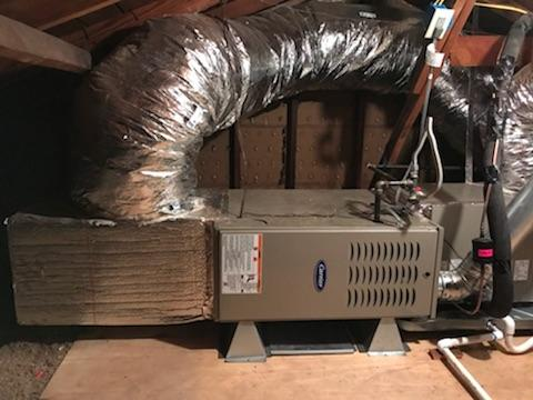 Pico Rivera, CA - Installed a condenser, coil, and a new gas furnace in the city of Pico River, CA.