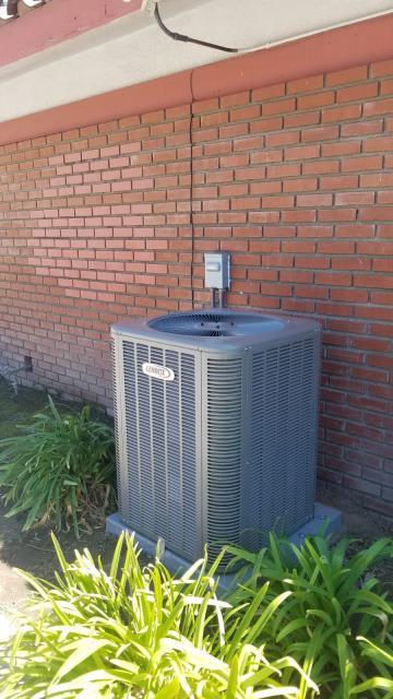 Covina, CA - Installation of a heat-pump system in Covina, Ca.