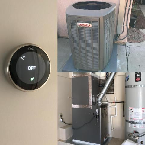 Moreno Valley, CA - Replaced a condenser, coil, and furnace in the city of Moreno Valley, CA.