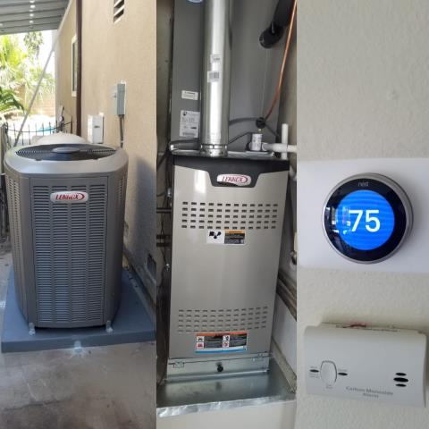 West Covina, CA - Replaced a condenser, coil, and furnace along with the NEST thermostat in the city of West Covina, CA.