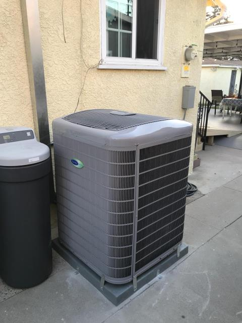 Pico Rivera, CA - Installed a new condenser, coil, and gas furnace, along with ducts in the city of Pico Rivera, CA.