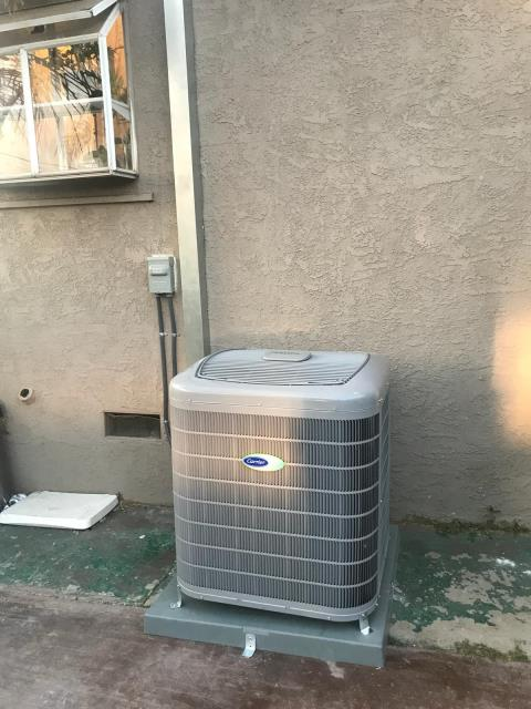 Los Angeles, CA - Installed a new condenser, coil, and furnace in the city of Los Angeles, CA.
