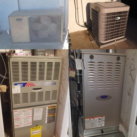 Los Alamitos, CA - Replaced a condenser, coil, and furnace in the city of Los Alamitos, CA.