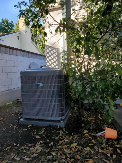 Whittier, CA - Replaced a condenser, coil, and a furnace in the city of Whittier,CA.