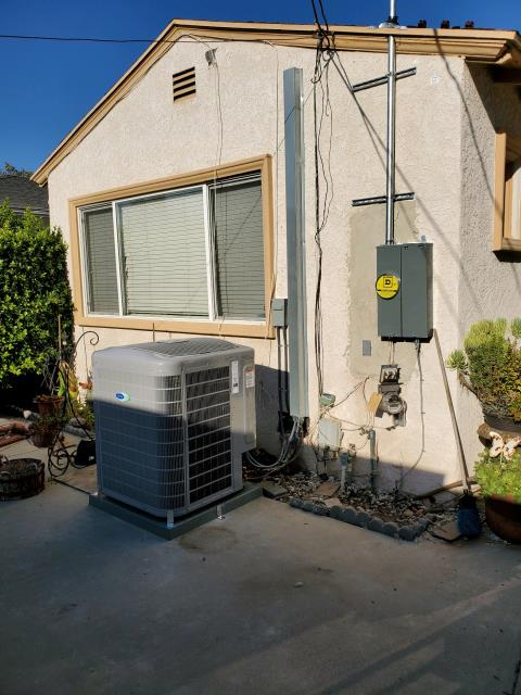 Los Angeles, CA - Replaced a condenser, coil, and gas furnace in the city of Los Angeles, CA.