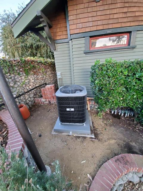 Pasadena, CA - Replaced a condenser, coil, and furnace in the city Pasadena, CA.