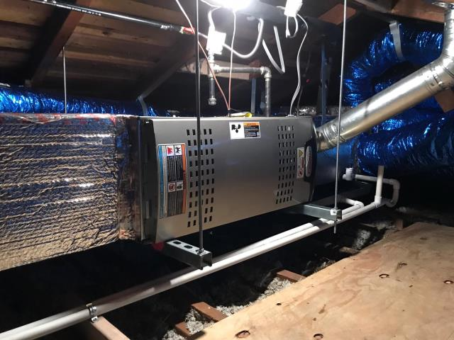 Burbank, CA - Installed a condenser, coil, and furnace in the city of Burbank, CA.