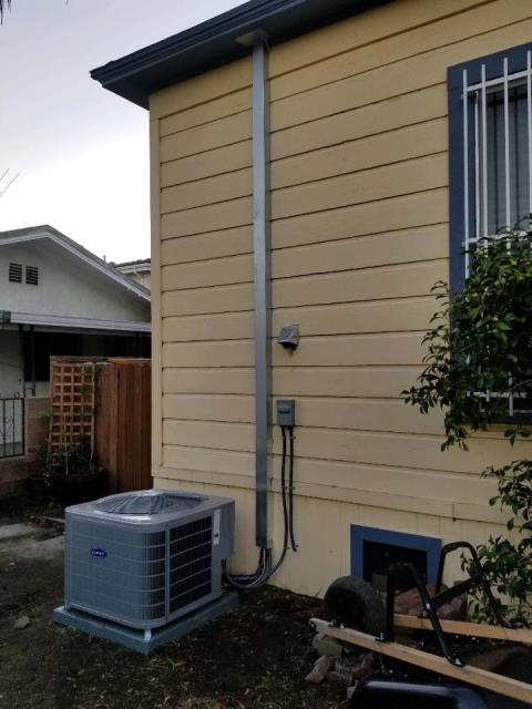 Los Angeles, CA - Replaced a condenser, coil, and furnace in the city of Los Angeles, CA.