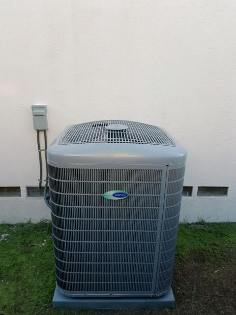 La Habra, CA - Replaced a condenser, coil, and furnace in the city of La Habra, CA.