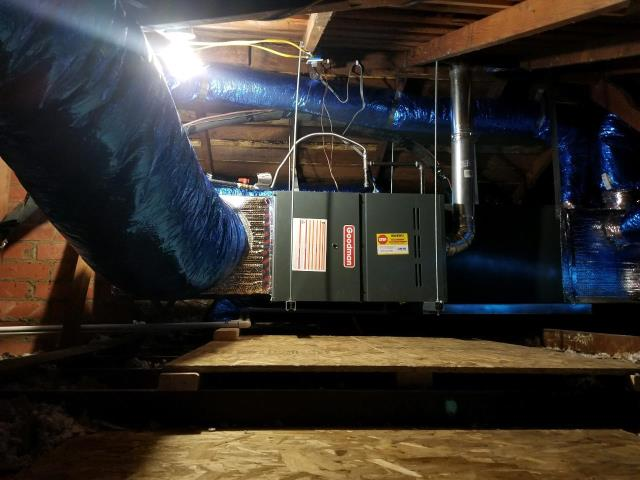 Inglewood, CA - Replaced the condenser, coil, and furnace, along with the ducts in the city of Inglewood, CA.