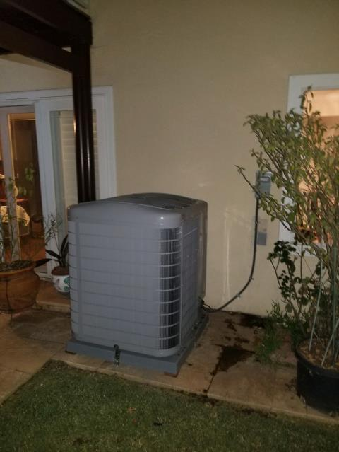 Hacienda Heights, CA - Replaced a condenser, coil, and furnace in the city of Hacienda Heights, CA.