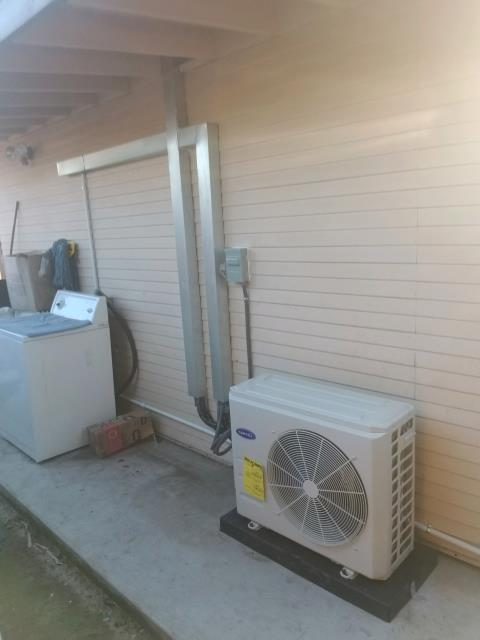Anaheim, CA - Installed a mini split system in the city of Anahiem, CA.