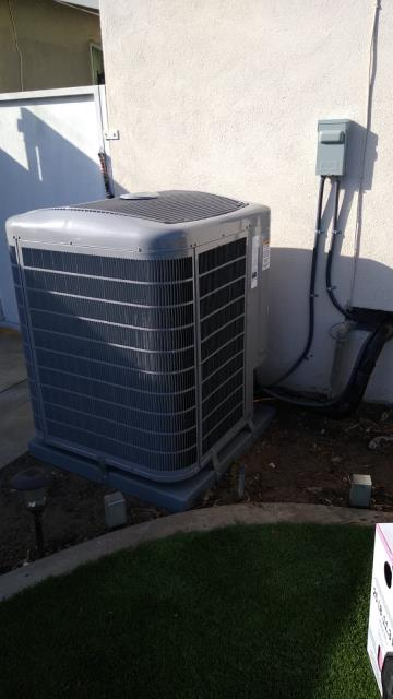 Torrance, CA - Replaced a condenser, and coil. Also installed a new gas furnace along with ducts in the city of Torrance, CA.
