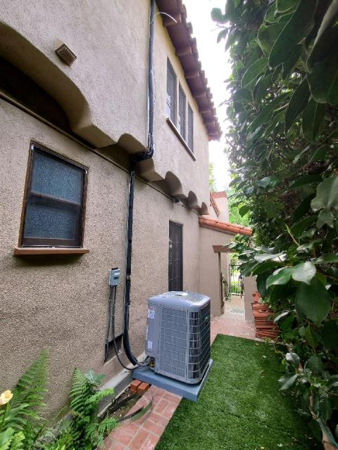 Replaced a condenser, coil, and furnace in the city of Bakersfield, CA.
