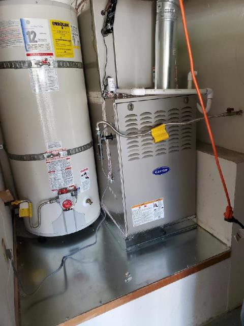 Irvine, CA - Replaced a condenser, coil, and furnace in the city of Irvine, CA.