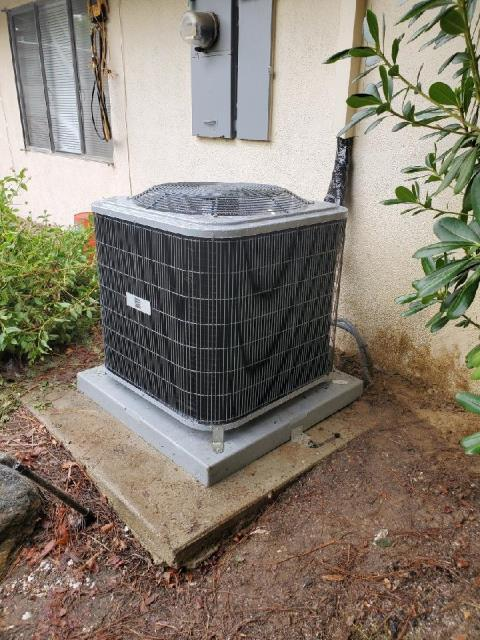 Los Angeles, CA - Replaced a condenser, coil, and a furnace in the city of Woodland Hills, CA.