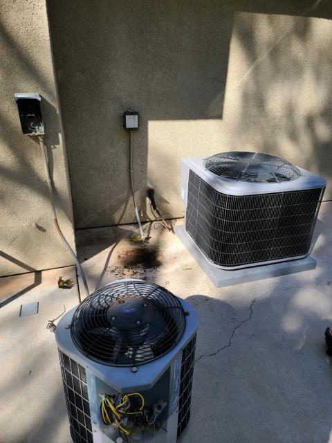 Rancho Santa Margarita, CA - Replaced a condenser, coil, and furnace in the city of Rancho Santa Margarita, CA.