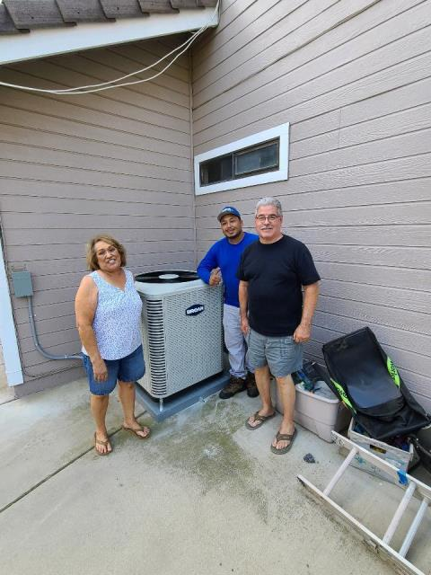 Riverside, CA - Replaced a condenser,coil, along with the ducts in the city of Riverside,CA.