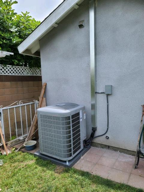 Replaced a condenser, coil and installed a new gas furnace in the city of Long Beach, CA.