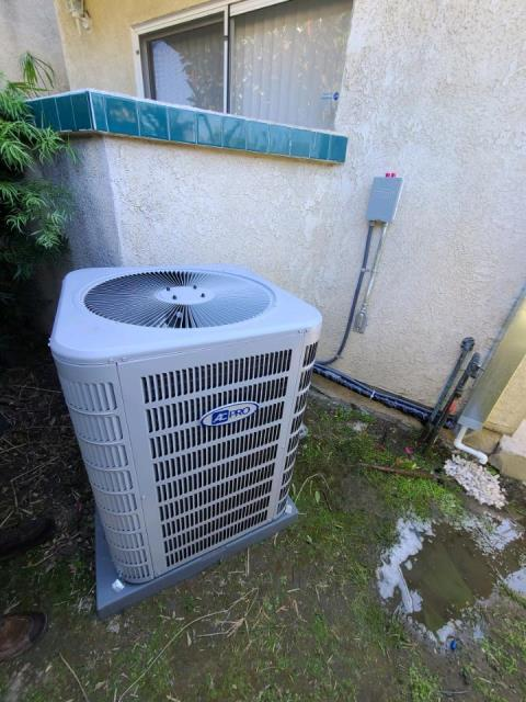 Paramount, CA - Installed a new condenser, coil, and furnace, along with the ducts in the city of Paramount, CA.