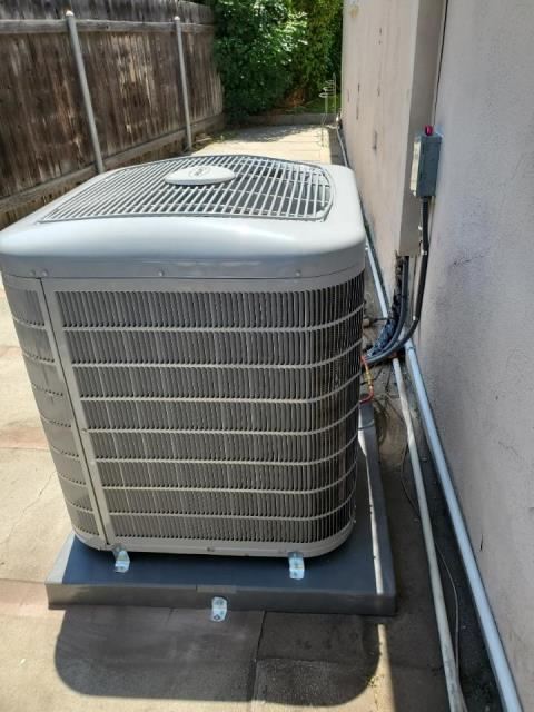 Arcadia, CA - Replaced a condenser, coil, and gas furnace in the city of Arcadia, CA.