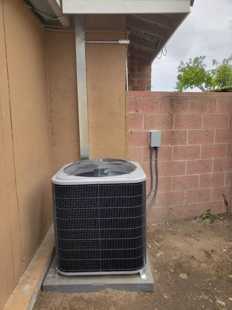 Buena Park, CA - Replaced a condenser, and coil. Installed a new gas furnace, and replaced the duct work in the city of Buena ParK, CA.