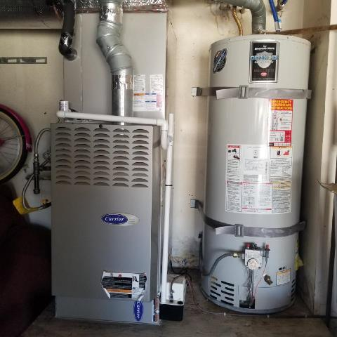 Fountain Valley, CA - Replaced a condenser, coil,and furnace in the city of Fountain Valley, CA.
