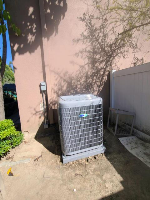 Fullerton, CA - Replaced a condenser, coil, and furnace. Also installed a new 200 amp panel in the city of Fullerton, CA.