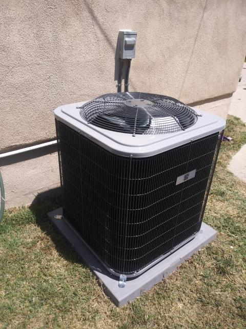 Los Angeles, CA - Replaced a condenser, coil,and furnace in the city of Los Angeles, CA.