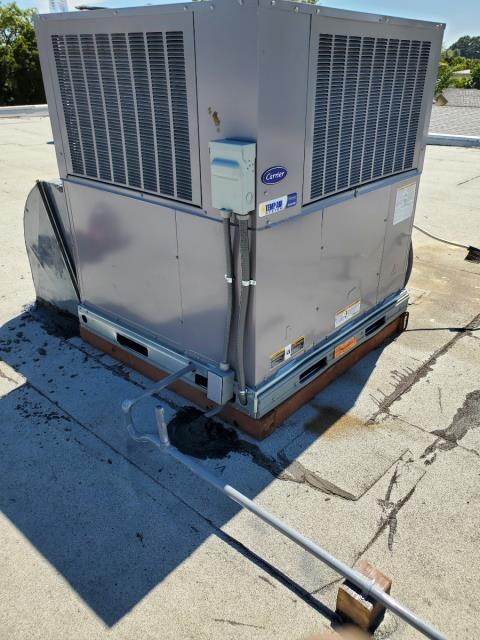 Glendora, CA - Replaced 2 roof top packages in the city of Glendora, CA.
