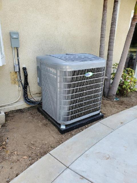 Orange, CA - Replaced a condenser, coil, and furnace in the city of Orange, CA.