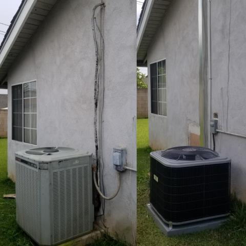 Covina, CA - Replaced a condenser, coil, and furnace in the city of Covina, CA.