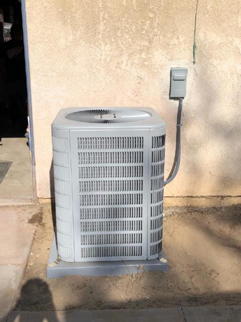 Rialto, CA - Replaced a condenser, coil, and furnace in the city of Rialto, CA.