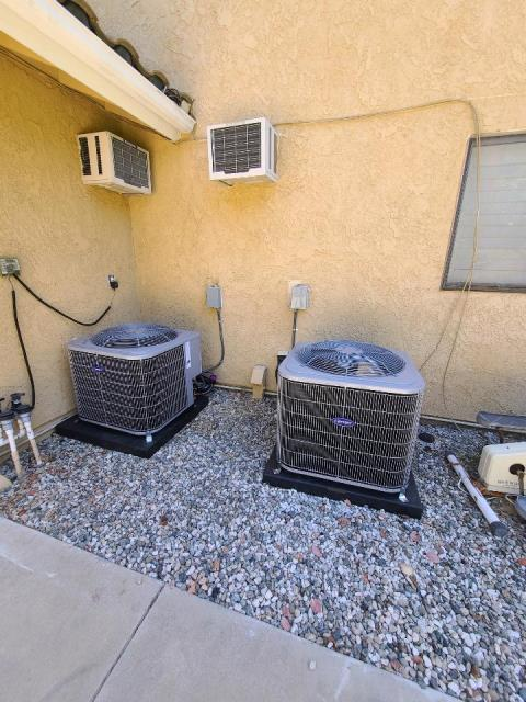 West Covina, CA - Replaced 2 condensers, 2 coils, and 2 furnaces int the city of West Covina, CA.