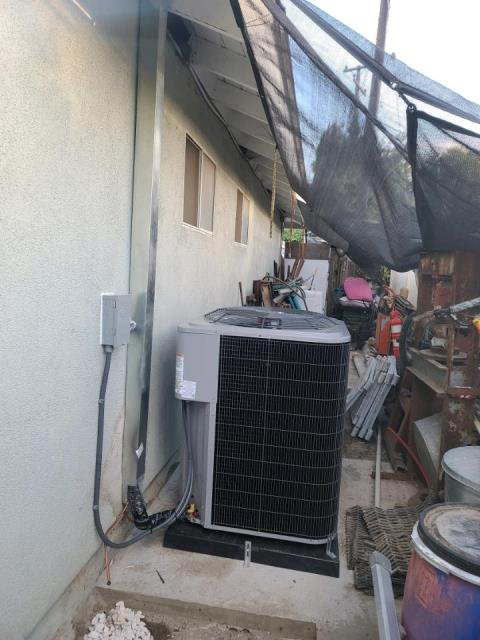 Lake Forest, CA - Replaced a condenser, coil, and furnace in the city of Lake Forest, CA.