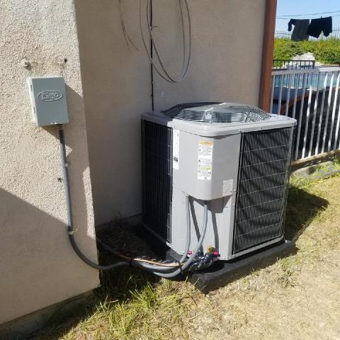 Rowland Heights, CA - Replaced a condenser,coil,and furnace in the city of Rowland Heights, CA.